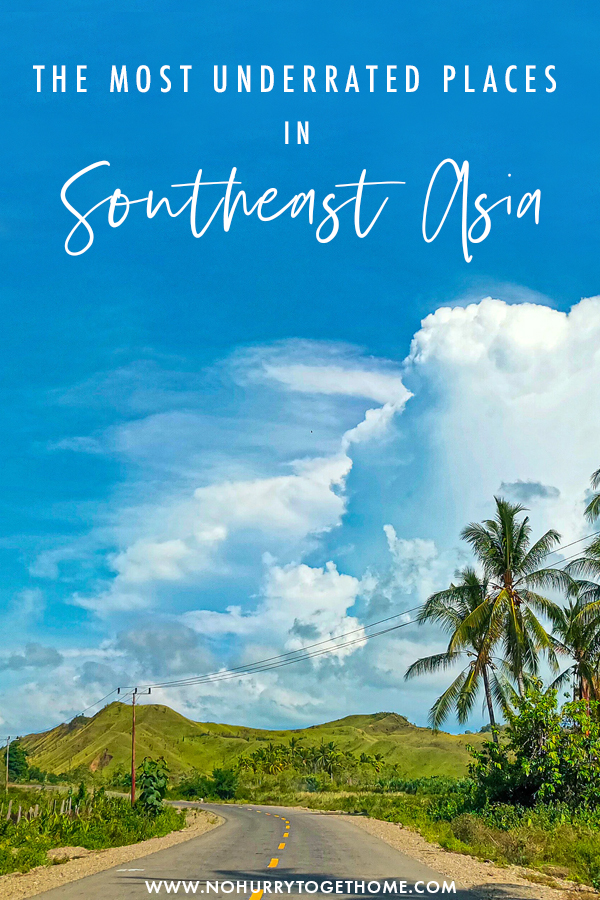 Southeast Asia is one everyone's travel bucketlist. Destinations like Phuket and Bali are high on everyone's travel list, but there are so many amazing and unknown destinations that you should visit too! On this post, I rounded up my favorite underrated places in Southeast Asia that you must add to your itinerary! #Asia