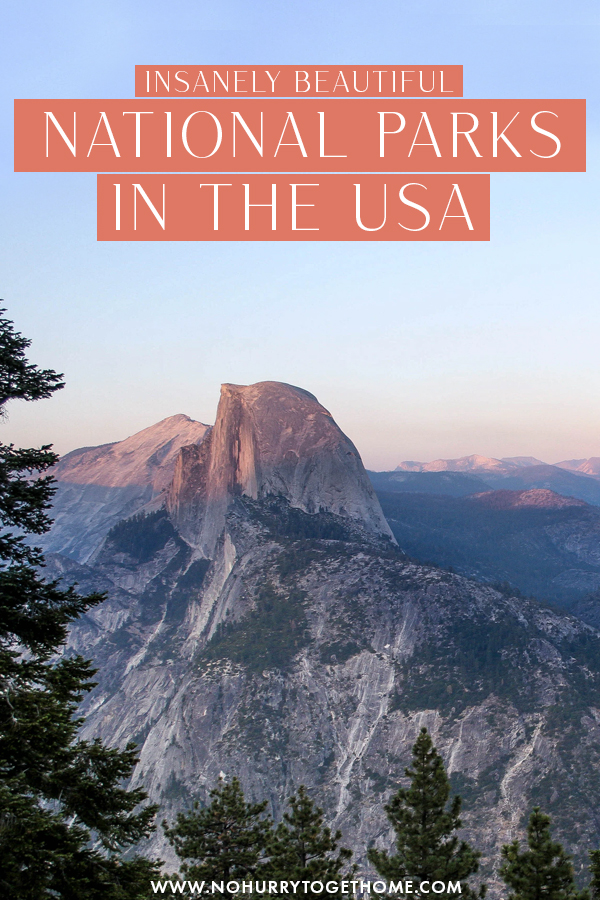 Wondering what are the best national parks to visit in the spring? If you're looking for hiking, camping, and outdoor activities for a spring spent in nature, or you're just looking for the best national parks to narrow down your list, here are some of the best national parks to visit in spring in the USA!