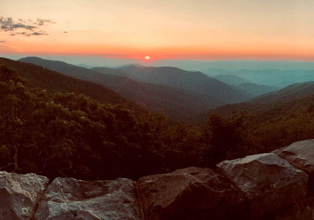 Shenandoah is one of the best national parks to visit in Spring