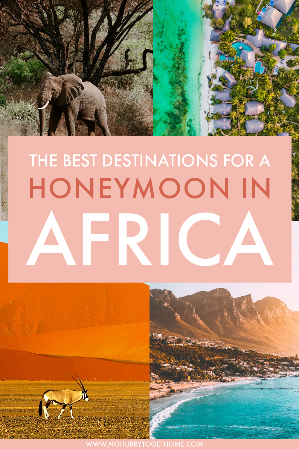 Wondering where to go in Africa for your honeymoon? If you're looking for the best beaches and unparalleled safari experiences, here are some of the best places to visit in Africa for your honeymoon!